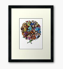 Muppets World of Friendship Framed Print