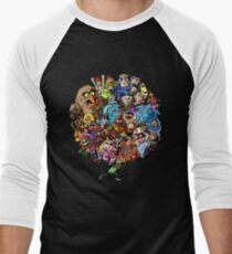 Muppets World of Friendship Men's Baseball ¾ T-Shirt