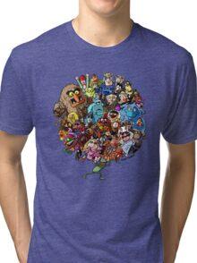 Muppets World of Friendship Tri-blend T-Shirt