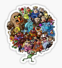 Muppets World of Friendship Sticker