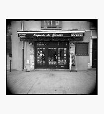 Crêperie de Gordes - Grenoble, France Photographic Print