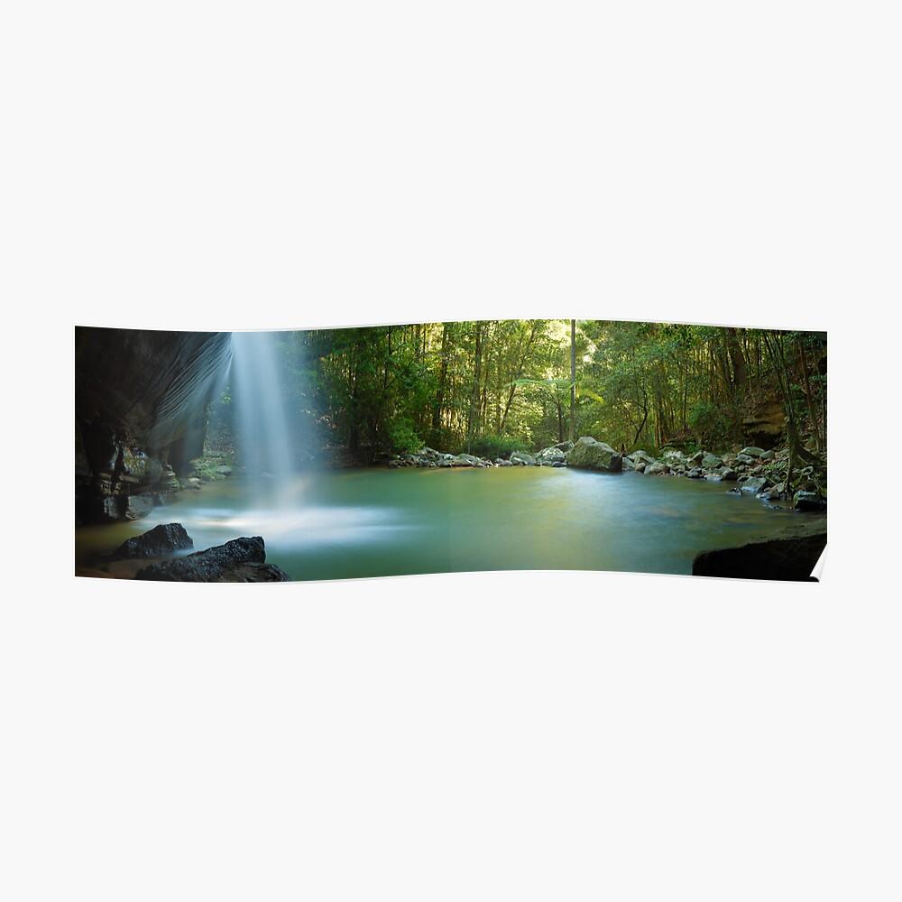 Buderim Falls, Sunshine Coast, Queensland, Australia Poster