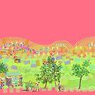 Delhi shanty or town by Helen Imogen Field