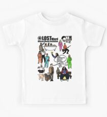 Lost Dharma Looney Bin Kids Tee