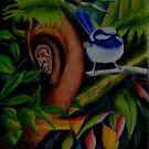 Rainforest Twitter by sandysartstudio