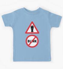 Angels Ahead, Don't Blink! Kids Tee