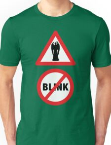 Angels Ahead, Don't Blink! T-Shirt