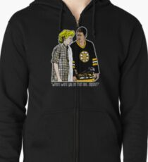 """Happy Gilmore - """"Where were you"""" Zipped Hoodie"""