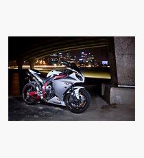 Yamaha R1 Photographic Print