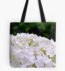 White Hydrangeas Tote Bag
