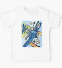 Corsair Snoopy the All Time Flying Ace Kids Tee