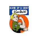 Blow up a sun? - I Can Do It! -iPhone case by boogiebus