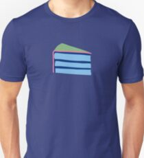 Pop Art Cake - blue and green Unisex T-Shirt