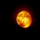 the red moon by Steve Shand