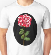 ✿♥‿♥✿CANADIAN PATRIOTIC ROSE TEE SHIRT✿♥‿♥✿ T-Shirt