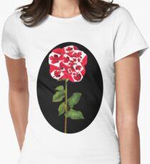 ✿♥‿♥✿CANADIAN PATRIOTIC ROSE TEE SHIRT✿♥‿♥✿ T-Shirt