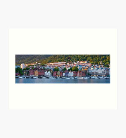 Bergen, Norway Art Print