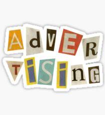 Advertising  Sticker