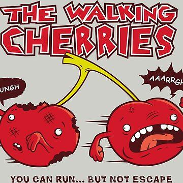 The Walking Cherries by rerodigital