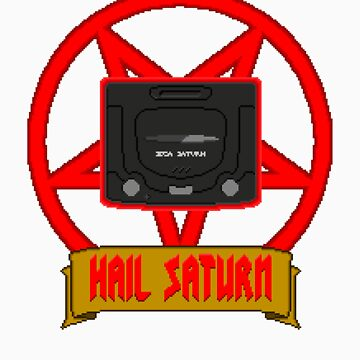 Hail Saturn by vgjunk