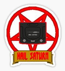 Hail Saturn Sticker