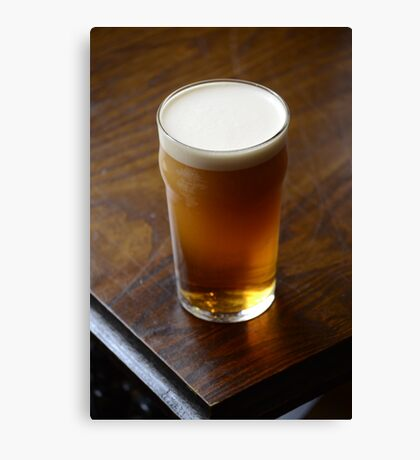 Pint of Timothy Taylor's Landlord Canvas Print