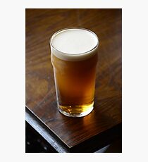 Pint of Timothy Taylor's Landlord Photographic Print