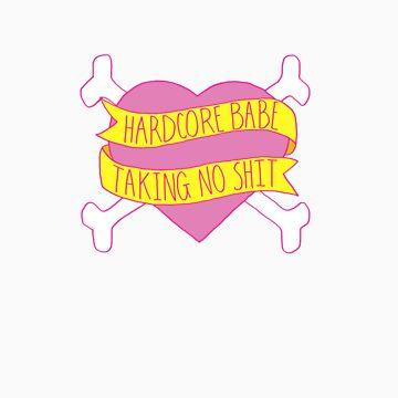 Hardcore Babe by elsbian