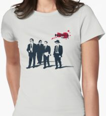 News Team Womens Fitted T-Shirt