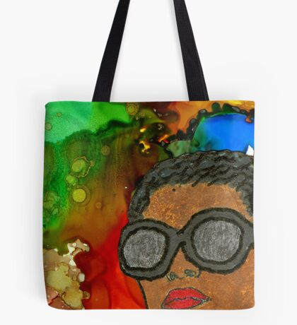 Fluid Thoughts Tote Bag