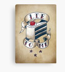 """Lie To Me"" Canvas Print"