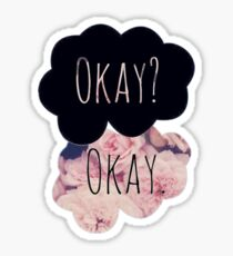 The Fault In Our Stars Tumblr Rose Sticker