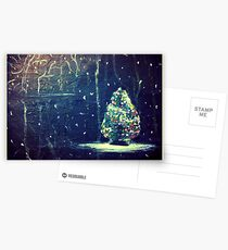 Blue Christmas Postcards
