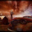 Abandoned Farm by WishesandWhims