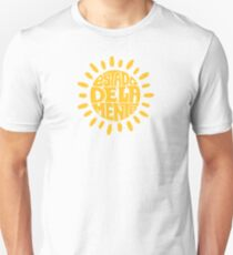 Sunny State of mind Rich yellow Unisex T-Shirt