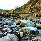 River in Jomson by sajal maskey