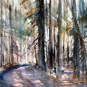 Forest #2 (From the series Taiga) by mishakuz