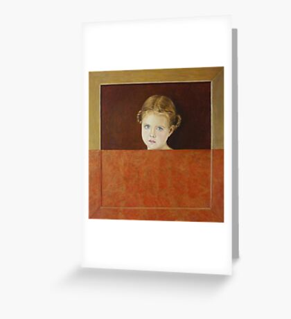 Windows of the Soul Greeting Card