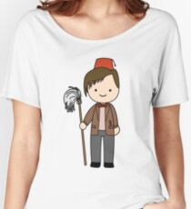 Eleventh Doctor Pandorica Kawaii Cartoon Design Women's Relaxed Fit T-Shirt