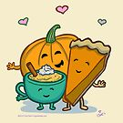 Pumpkin Lovers' Hug! by hugotheday