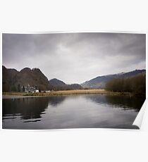Derwent Water, English Lakes Poster