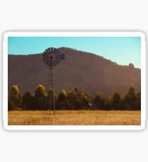Outback Windmill Sticker