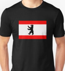 Flag of Berlin Unisex T-Shirt
