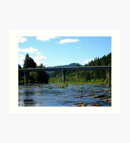 Bullock Bridge 2 Art Print