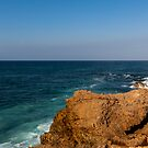 Overlooking the Pacific Ocean from La Chocolatera, Ecua by Paul Wolf