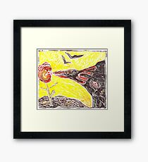 Vital Sun Framed Print