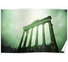 Columns - Lomo Poster