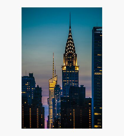 Chrysler Building At Sunset Photographic Print