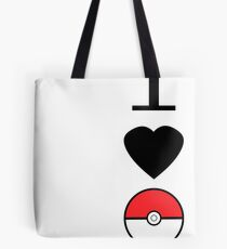 I Heart Pokemon Tote Bag
