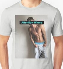 Rusko Star Attention Whore T-Shirt
